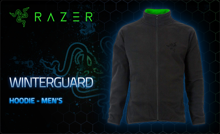 Razer Winterguard Hoodie Men L (RGF5M09S2P-01-04LG)