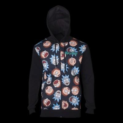 Rick & Morty Pattern Printed Sublimation Men\'s Hoodie XL (HD665437RMT-XL) купить