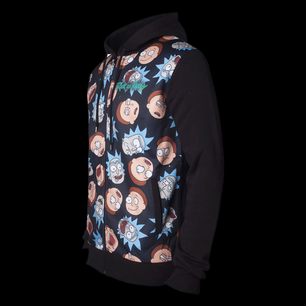 Rick & Morty Pattern Printed Sublimation Men's Hoodie XL (HD665437RMT-XL) цена