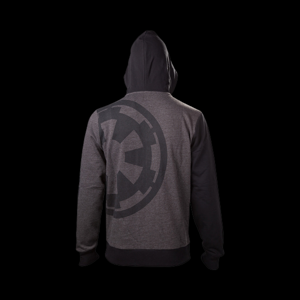 Star Wars Rogue One Imperial Emblem Zipper Hoodie, L (HD544300STW) фото