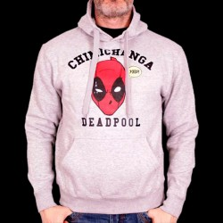 Sweat Shirt Deadpool Chimichanga L (MEPOOLXSW044)
