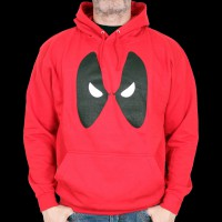 Sweat Shirt Deadpool Marvel - Deadpool Eyes L