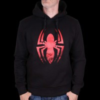 Sweat Shirt Spiderman Logo L