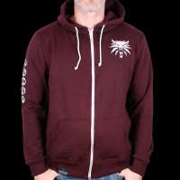 Sweat Shirt Zippe The Witcher 3 Purple L