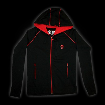 World of Warcraft Horde Premium Zip-up Hoodie L