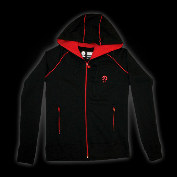 World of Warcraft Horde Premium Zip-up Hoodie L купить