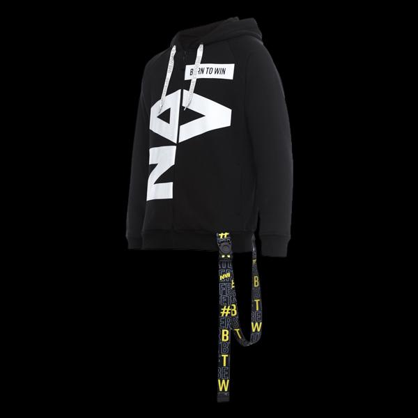 Zipped Hoodie NaVi x Litkovskaya Black S/M цена