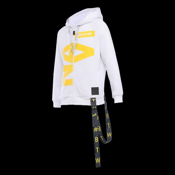 Zipped Hoodie NaVi x Litkovskaya White L/XL купить