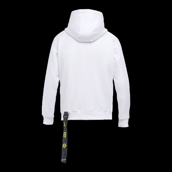 Zipped Hoodie NaVi x Litkovskaya White S/M стоимость