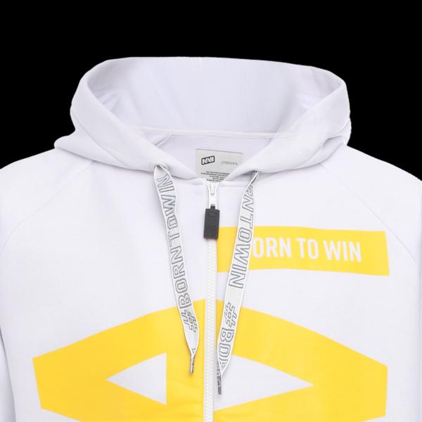 Zipped Hoodie NaVi x Litkovskaya White S/M цена