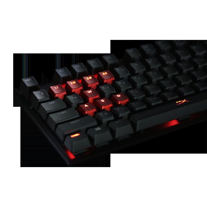 HyperX Alloy FPS Cherry MX Red (HX-KB1RD1-RU/A5) фото
