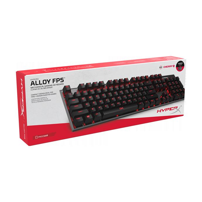 HyperX Alloy FPS Cherry MX Red (HX-KB1RD1-RU/A5) в Украине