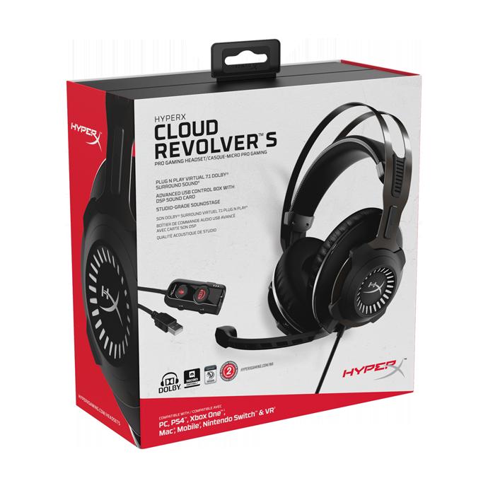HyperX Cloud Revolver S (HX-HSCRS-GM/EE) цена