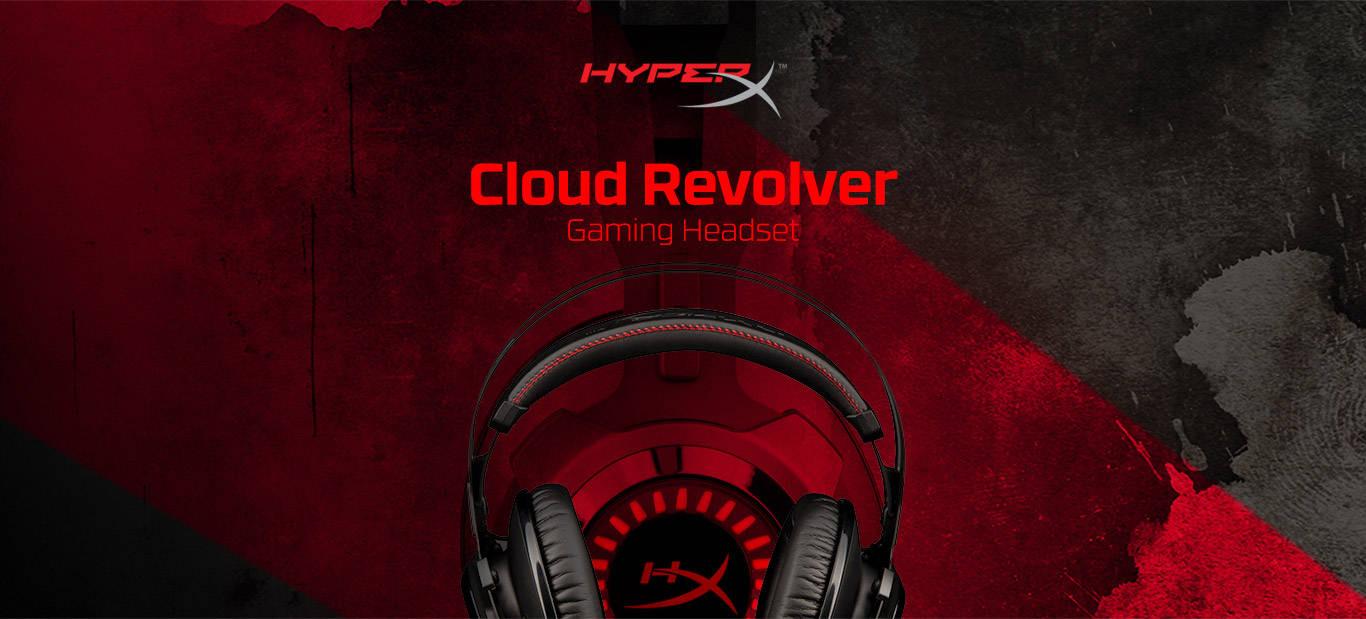 Гарнитура HyperX Cloud Revolver