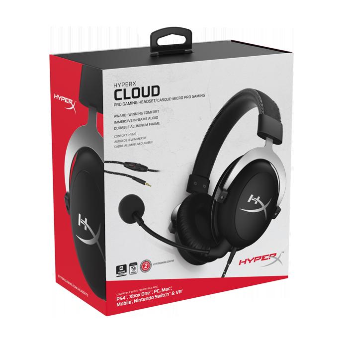 HyperX Cloud Silver (HX-HSCL-SR/NA) цена