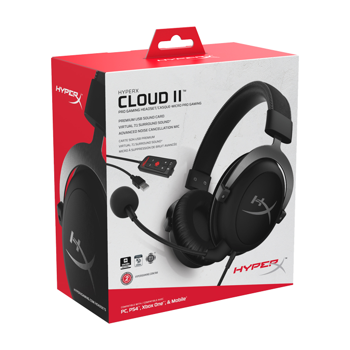 HyperX Cloud II Gun Metal (KHX-HSCP-GM) фото