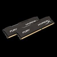 HyperX DDR3 16 GB (2x8GB) 1600 MHz Fury Black (HX316C10FBK2/16)