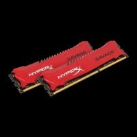 HyperX DDR3 8GB (2x4GB) 2400 MHz Savage Red (HX324C11SRK2/8)