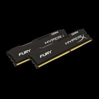 HyperX DDR4 16 GB (2x8GB) 2400 MHz Fury Black (HX424C15FBK2/16)