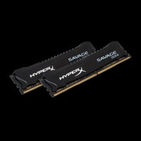 HyperX DDR4 16 GB (2x8GB) 2400 Mhz Savage Black (HX424C12SB2K2/16)