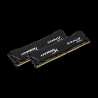 HyperX DDR4 8 GB (2x4GB) 2400MHz Savage Black (HX424C12SB2K2/8)