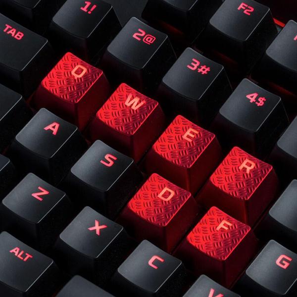 HyperX FPS & MOBA Gaming Keycaps Upgrade Kit (Red) в Украине