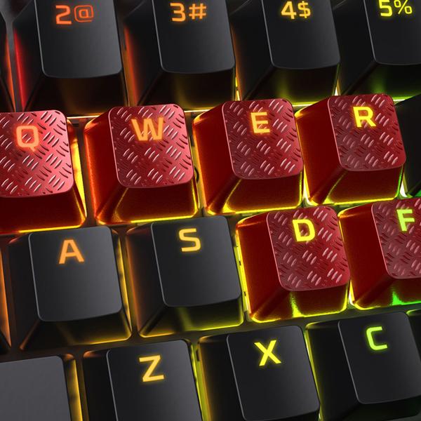 HyperX FPS & MOBA Gaming Keycaps Upgrade Kit (Red) фото