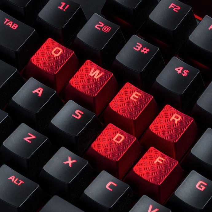 HyperX FPS & MOBA Gaming Keycaps Upgrade Kit (Red) в Украине