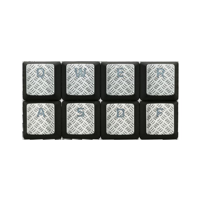 HyperX FPS & MOBA Gaming Keycaps Upgrade Kit (Titanium) стоимость