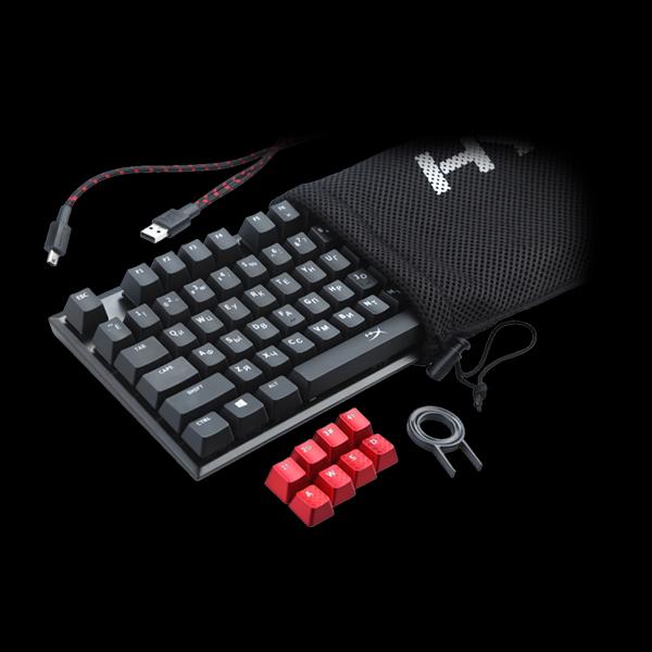 HyperX Alloy FPS Cherry MX Blue (HX-KB1BL1-RU/A5) цена