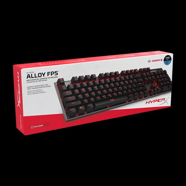 HyperX Alloy FPS Cherry MX Blue (HX-KB1BL1-RU/A5) в Украине