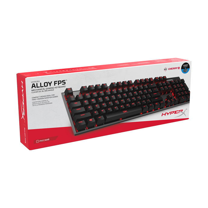 HyperX Alloy FPS Cherry MX Blue (HX-KB1BL1-RU/A5)