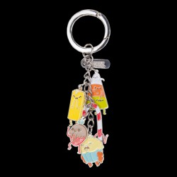 Adventure Time - Candy People Metal Keychain With Charms (KE280402ADV)