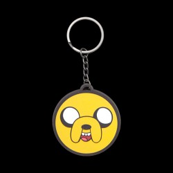 Adventure Time - Jake Rubber Keychain (260322ADV)