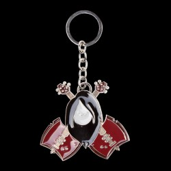 Adventure Time - Marceline With Guitar Metal Keychain (KE200406ADV)