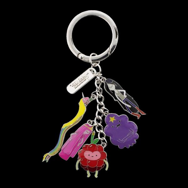 Adventure Time - Princesses Metal Keychain With Charms (KE280403ADV) купить