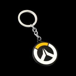 Overwatch Circle Logo Keychain