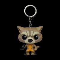 Pocket POP! Keychain. Marvel: Guardians. O/T Galaxy: Rocket Raccoon