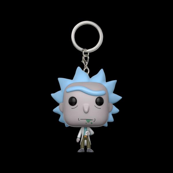 Funko Pocket POP! Keychain: Rick & Morty: Rick (12916) купить