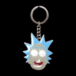 Rick & Morty - Rick Metal Keychain (KE081213RMT)