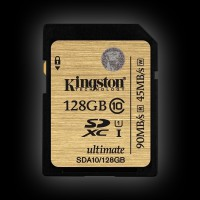 Kingston 128GB SDXC C10 UHS-I 90MB/s (SDA10/128GB)