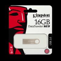 Kingston 16GB DataTraveler SE9 Metal Silver DTSE9H/16GB