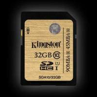 Kingston 32GB SDHC C10 UHS-I R90/W45MB/s (SDA10/32GB)