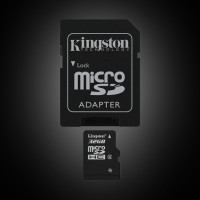 Kingston 32 GB microSDHC class 4 + SD Adapter SDC4/32GB