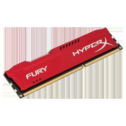 HyperX DDR3 4 GB 1600 MHz Fury Red (HX316C10FR/4)