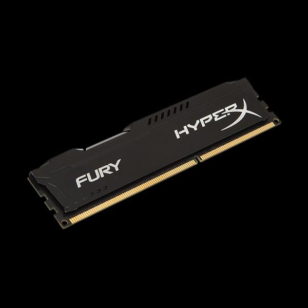 HyperX DDR3 4 GB 1600 MHz Fury Black (HX316C10FB/4) купить