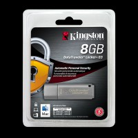 Kingston 8Gb DataTraveler Locker+ G3 Metal Silver DTLPG3/8GB