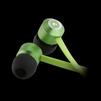 KitSound Ribbons In-Ear Headphones Green (KSRIBGN)
