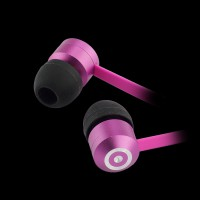 KitSound Ribbons In-Ear Headphones Pink (KSRIBPI)