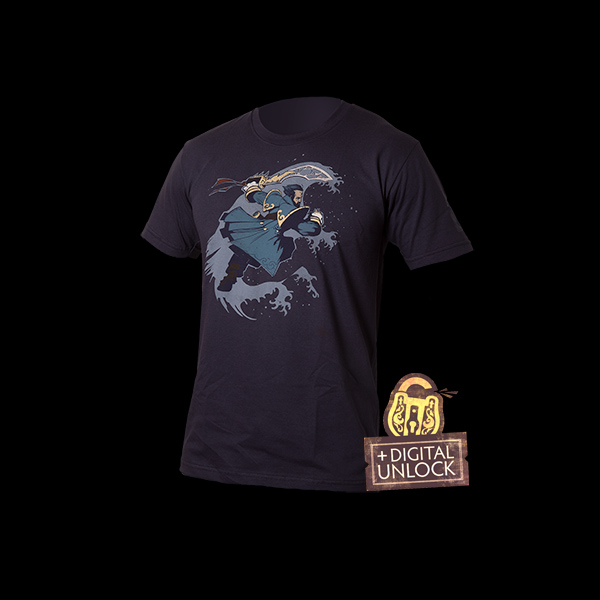 Dota 2 Kunkka Graphic T-shirt